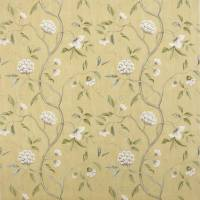 Snow Tree Fabric - Yellow