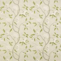 Snow Tree Fabric - Silver
