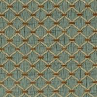 Agra Fabric - Blue Walnut