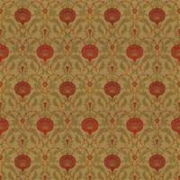 Ottoman Fabric - Apple Red