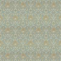 Ottoman Fabric - Blue Wheat