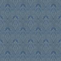 Empress Fabric - Azure