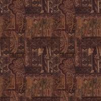 Kashmir Fabric - Ruby