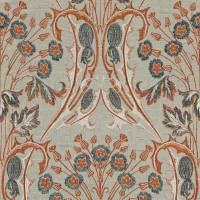 Bouquet Fabric - Smoked Coral