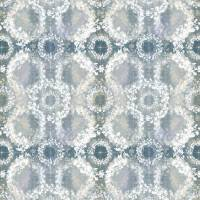 Heath Fabric - Teal/Lavender