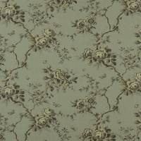 Ashfield Floral Fabric - Tarnished Steel