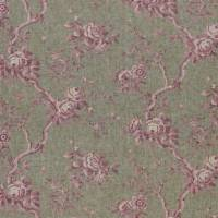 Ashfield Floral Voile Fabric - Vintage Blush
