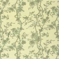 Marlowe Floral Voile Fabric - Leaf Fall