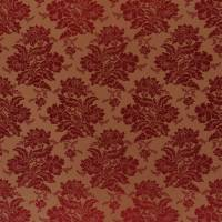 Wroxton Damask Fabric - Crimson