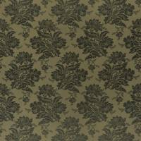 Wroxton Damask Fabric - Loden