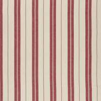 Adamson Stripe Fabric - Vineyard Red