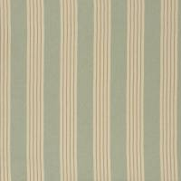 Round Swamp Stripe Fabric - Celadon