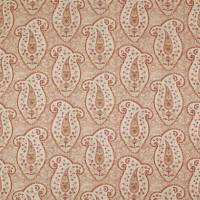 Stepping Stone Paisley Fabric - Red Earth