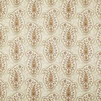 Stepping Stone Paisley Fabric - Clay