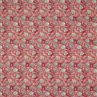 Shell Beach Batik Fabric - Scarlet