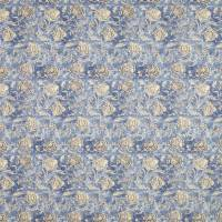 Shell Beach Batik Fabric - Denim