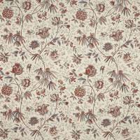 Pillar Point Floral Fabric - Bittersweet