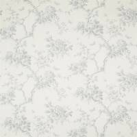 Ashfield Bay Floral Fabric - Dove