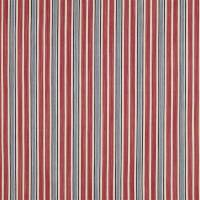 Columbier Stripe Fabric - Antique Red