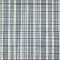 Venice Beach Madras Fabric - Pacific Blue