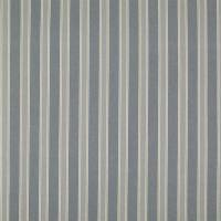 Lurin Stripe Fabric - Faded Blue