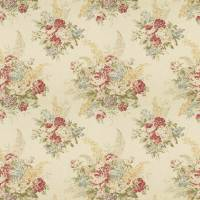 Angela Floral Fabric - Cream