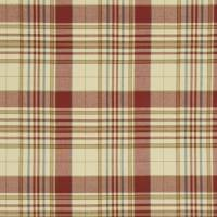 Westbrook Plaid Fabric - Antique Red