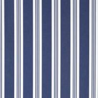 Patio Stripe Fabric - Blue