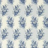 Mapleton Floral Fabric - Blue