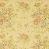 Brianna Floral Fabric - Tea