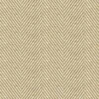 South Downs Herringbone Fabric - Twine