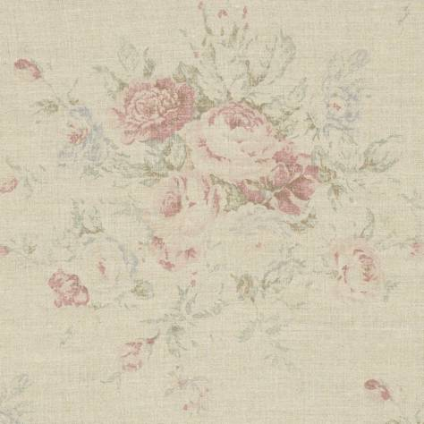 Ralph Lauren Signature Country and Coast Fabrics Wainscott Floral Fabric - Vintage Rose - FRL118/02