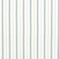 Maritime Linen Ticking Fabric - Denim
