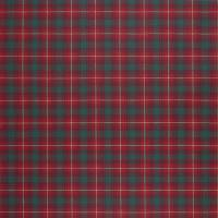 Doncaster Tartan Fabric - Evening Red