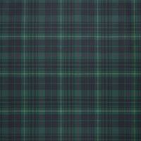 Keighley Tartan Fabric - Hunter Green
