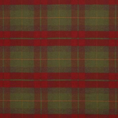 Ralph Lauren Signature Tartans Fabrics Coach Road Tartan Fabric - Crimson - FRL5060/03