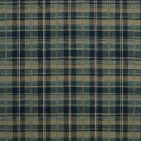 Ryokan Plaid Fabric - Indigo