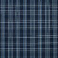 Mission Plaid Fabric - Indigo