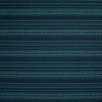 Gamble Stripe Fabric - Indigo