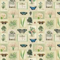 Flora and Fauna Fabric - Parchment