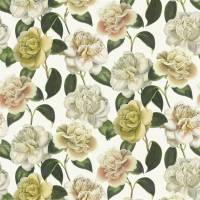 Camellia Folly Fabric - Parchment