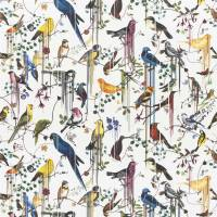 Birds Sinfonia Fabric - Perce Neige