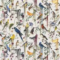 Birds Sinfonia Fabric - Jonc