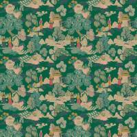 Japanese Garden Fabric - Jade