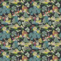 Japanese Garden Fabric - Dayglow