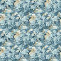 English Oak Fabric - Cornflower