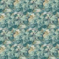 English Oak Fabric - Teal