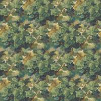 English Oak Fabric - Leaf