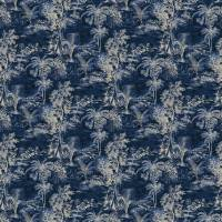 Heat of the Night Fabric - Indigo