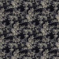 Heat of the Night Fabric - Onyx
